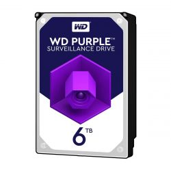 Western Digital WD60PURZ - 6 TB HDD - PURPLE SURVEILLANCE